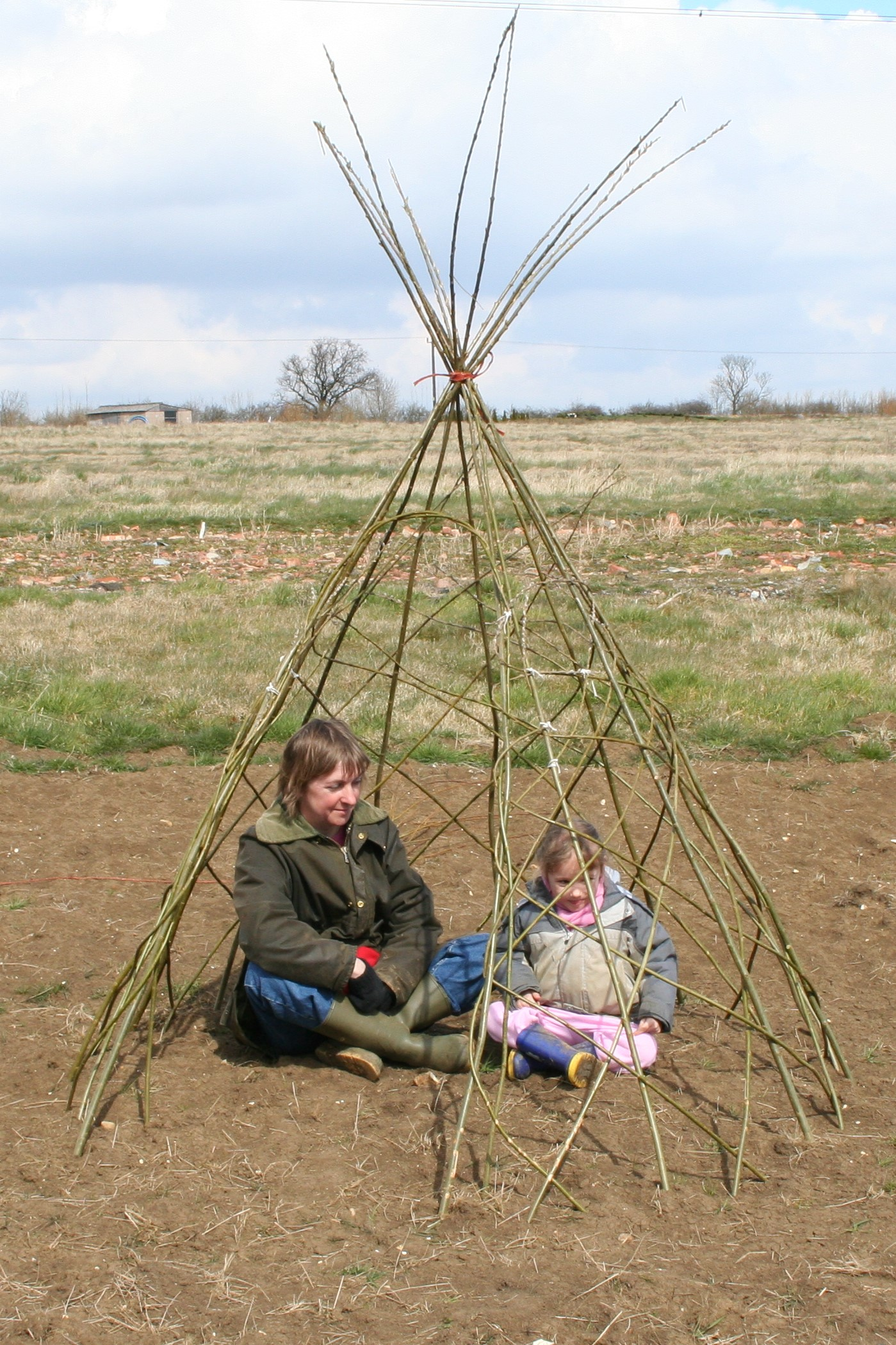 Living Willow Wigwam Kit