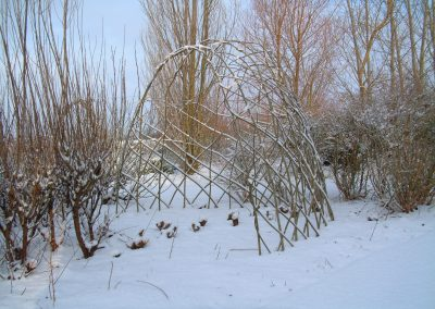Large Living willow half bower kit