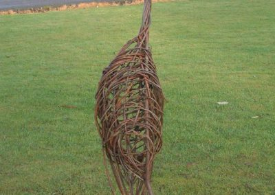 Easy willow project. Random weave bird. Willows Nursery.