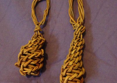 Easy willow project. Woven willow Christmas tree decoration at Willows Nursery. Buy willow to make.